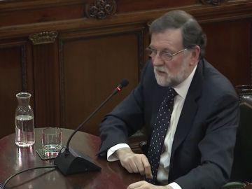 Rajoy, en el juicio
