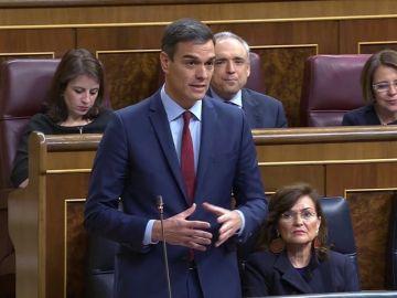 Así se han despedido Sánchez y Casado en el último pleno del Congreso