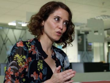 La candidata del PP a la Comunidad de Madrid, Isabel Díaz Ayuso