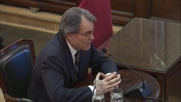 El expresidente catalán Artur Mas