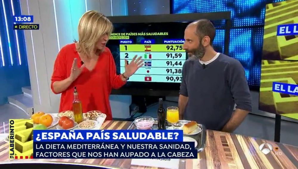 Julio Basulto valora la dieta mediterránea