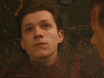 Tom Holland en 'Vengadores: Infinity War'