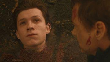 Tom Holland en 'Vengadores: Infinity War'