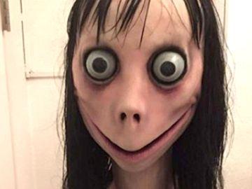 Una imagen del reto viral de 'Momo'