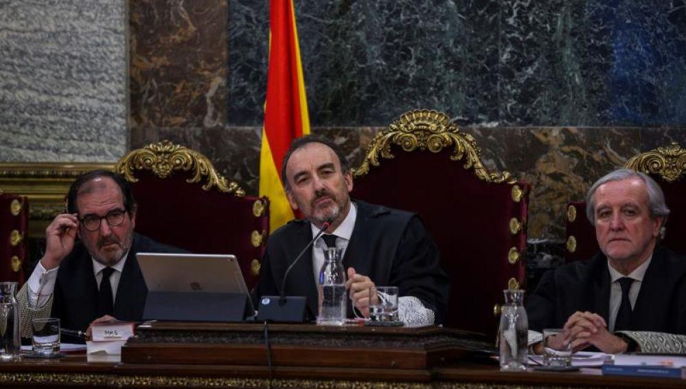 El presidente del tribunal y ponente de la sentencia, Manuel Marchena