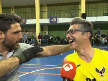 Jaime Nava, padrino de 'Los Carpetanos', nuevo equipo de rugby en silla de ruedas