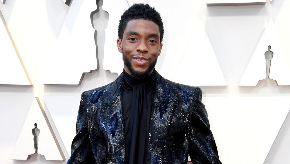 Chadwick Boseman en los Oscar 2019