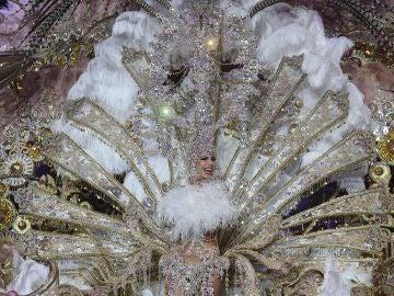 Priscila Medina, Reina del Carnaval de Santa Cruz de Tenerife 2019.