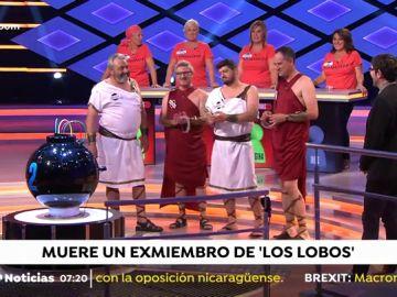 La emotiva despedida de 'Los Lobos' al concursante fallecido José Pinto en 'Boom'