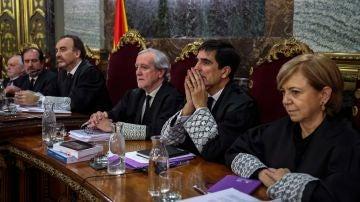 Tribunal en el juicio al 'procés'