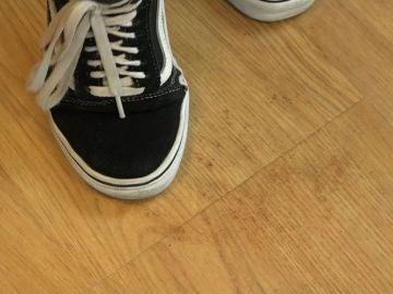 Mancha en el suelo