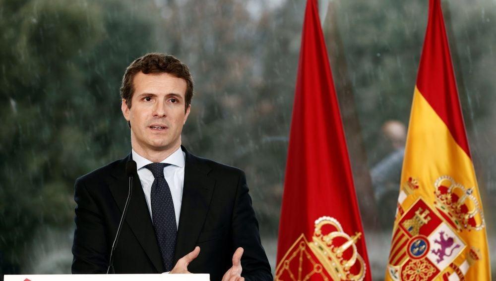Pablo Casado, presidente del Partido Popular