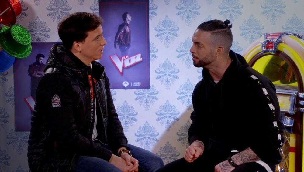 VÍDEO: Rasel y Xuso Jones se retan en 'Qué dice la canción'