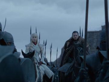 Daenerys y Jon en 'Juego de Tronos'