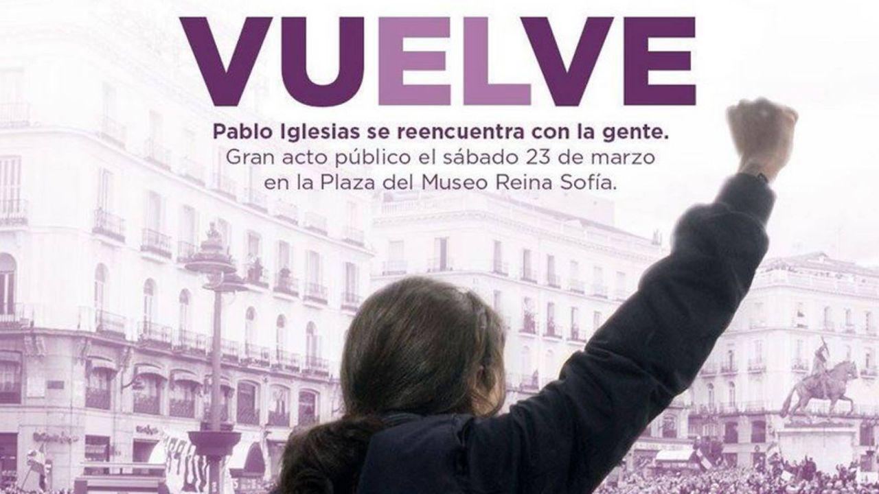 Pablo Iglesias Se Reincorpora El 23 De Marzo A La Primera