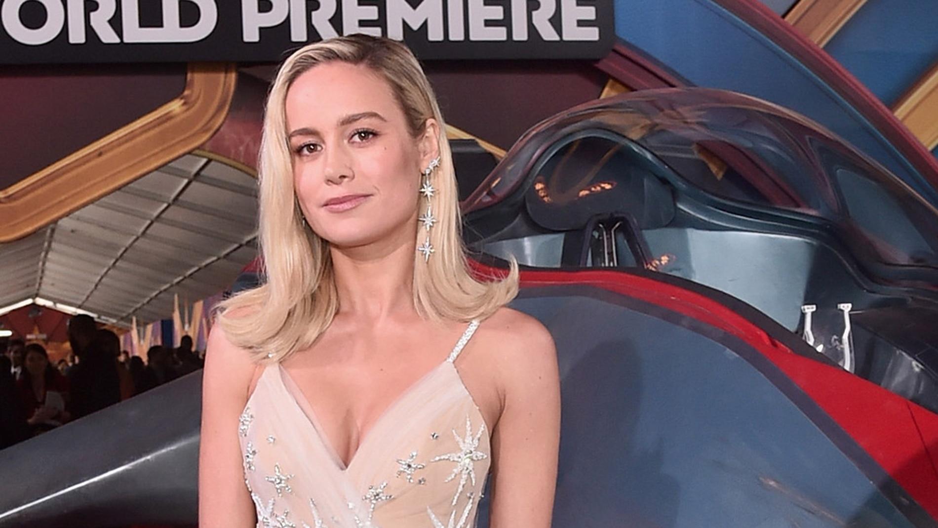 Brie Larson en la premiere de 'Capitana Marvel'