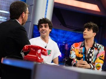 """VÍDEO: 'Los Javis' se ponen románticos en 'El Hormiguero 3.0': """"Estamos más enamorados que nunca"""""""