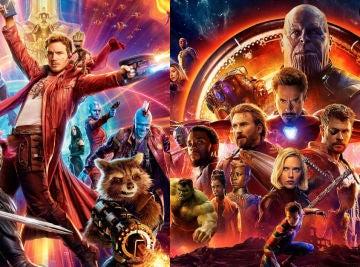 'Guardianes de la Galaxia' y 'Vengadores: Endgame'
