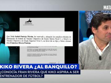 Fran Rivera, en Espejo Público