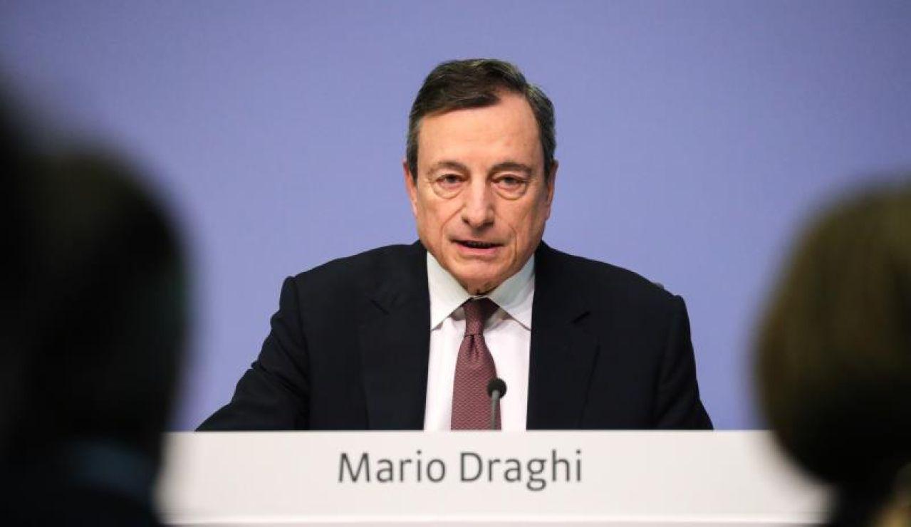 El ex presidente del BCE, Mario Draghi