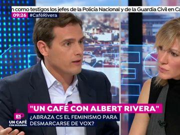 Albert Rivera con Susanna Griso