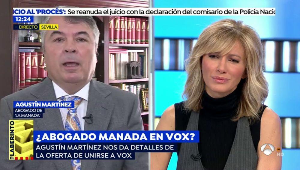 El rifirrafe de Susanna Griso con el abogado de 'La Manada' por ser apoderado de Podemos
