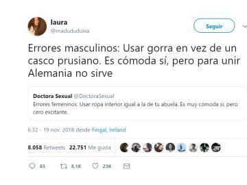 Zascas feministas