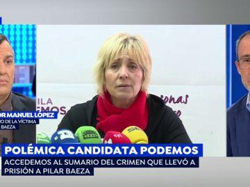 Las mentiras de Pilar Baeza