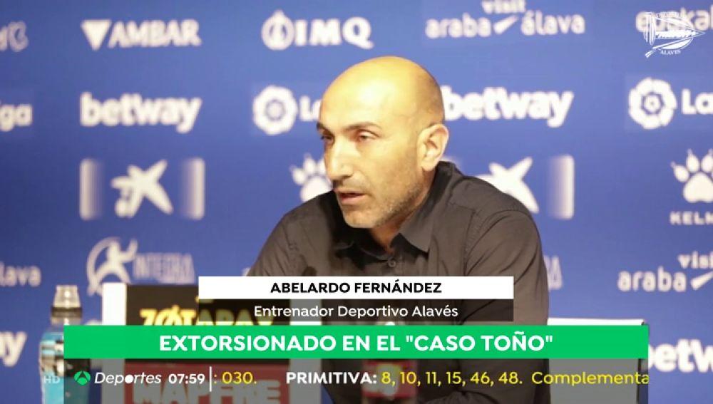 """Abelardo: """"Reconozco que he sido víctima de una presunta extorsión"""""""