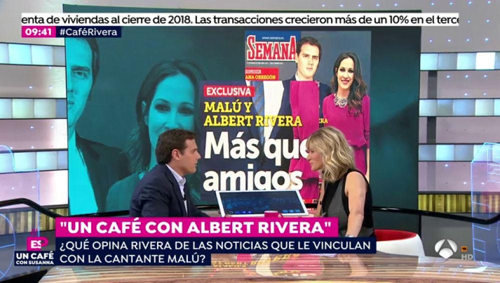 Albert Rivera, sobre su presunta relación con Malú