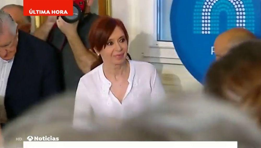 Prisión preventiva para Cristina Fernández aunque no efectiva por ser aforada