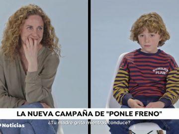 Cómo conducen los padres a ojos de sus hijos: la nueva campaña de Ponle Freno