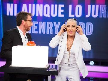 Marron trae a 'El Hormiguero 3.0' los éxitos de Ana Torroja y Mecano con un nostálgico juego
