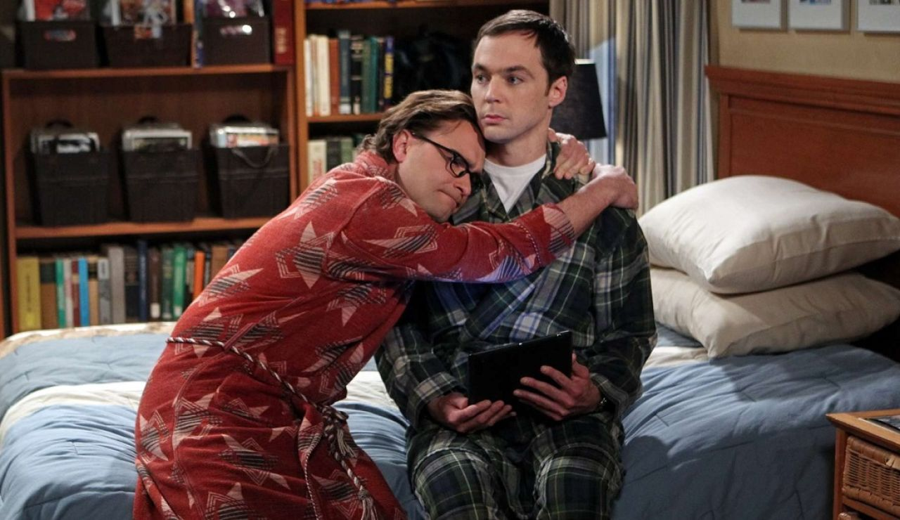 Leonard y Sheldon en 'The Big Bang Theory'