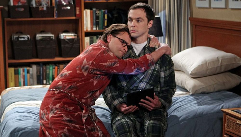 Leonard y Sheldon en 'The Big Bang Theory'