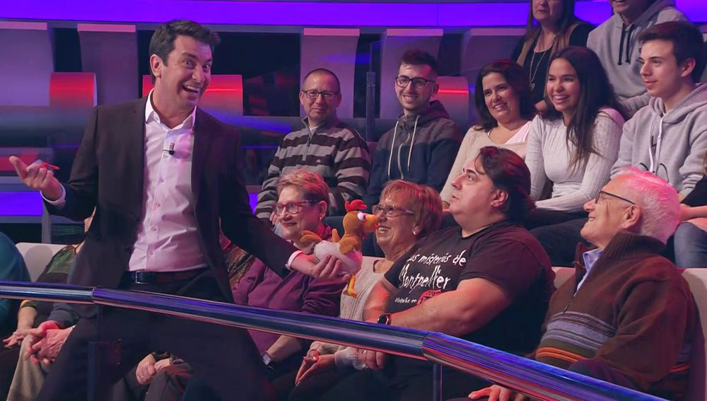 Arturo Valls le pone a prueba: 'el señor que nunca se ríe' vuelve a '¡Ahora Caigo!'