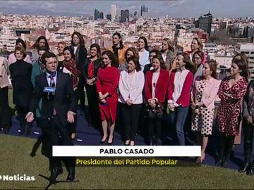 """El Partido Popular considera """"inadmisible"""" el manifiesto del 8-M al estar """"politizado por la izquierda"""""""