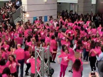 Espectáculo sorpresa en EE.UU. por el 'Día de la Mujer'