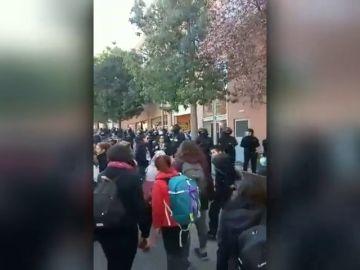 Investigan a dos mujeres tras los incidentens provocados en un supermercado de Barcelona