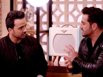 """VÍDEO: Luis Fonsi y David Bustamante: """"A la hora de hacer un dueto hay que ser generoso"""""""