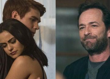 KJ Apa, Camila Mendes y Luke Perry en 'Riverdale'
