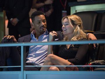 Will Smith y Margot Robbie en 'Focus'
