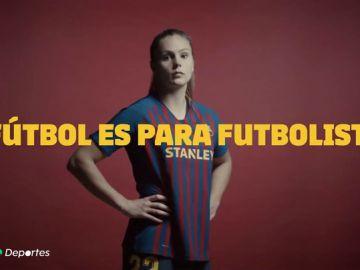 """La mujer, cada vez más cerca que los hombres en fútbol: """"Ahora puedo decir que soy futbolista sin ningún miedo"""""""