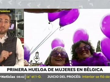BELGICA HUELGA
