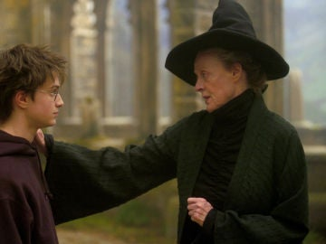McGonagall y Harry Potter