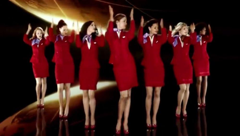 Virgin Atlantic permite a sus azafatas trabajar sin maquillaje