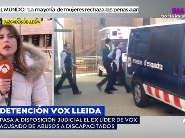 El ex líder de Vox en Lleida pasa a disposición judicial tras ser acusado de abusos a discapacitados