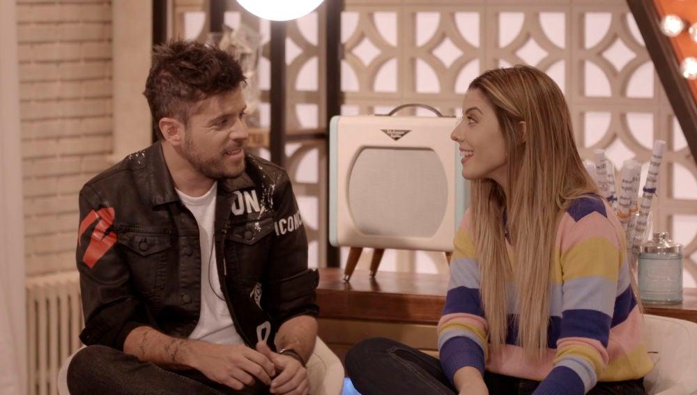 """VÍDEO: Pablo López y Miriam Rodríguez: """"Un dueto en Batalla tiene que quedar bonito, pero también uno tiene que salvarse"""""""