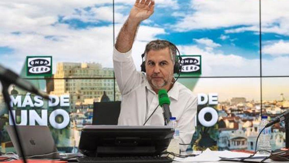 Carlos Alsina en 'Más de uno'
