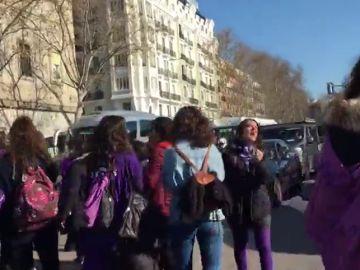 Cortan el tráfico en las inmediaciones de Atocha, en Madrid